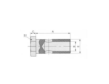 公制螺纹铰接螺栓